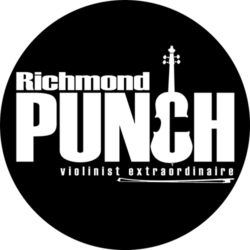 Richmond Punch - Black LOGO with Bow